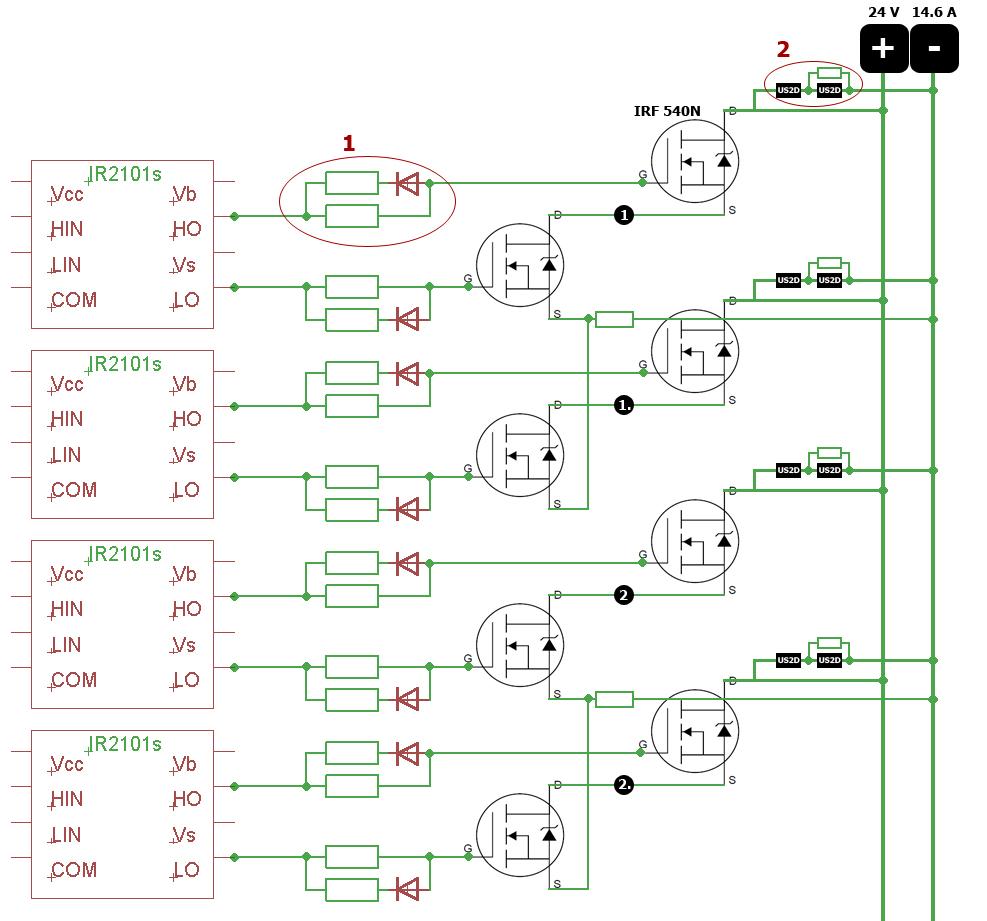 Мост полевых транзисторах схема фото 26
